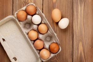 Fellobogózzák a tojásokat is